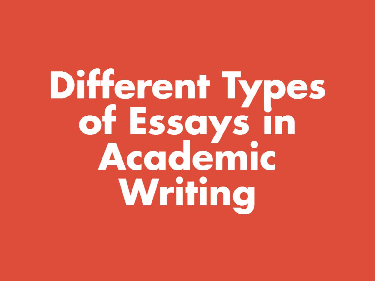 how to write essay - How to Write 5 Different Types of Essays [Step by Step]