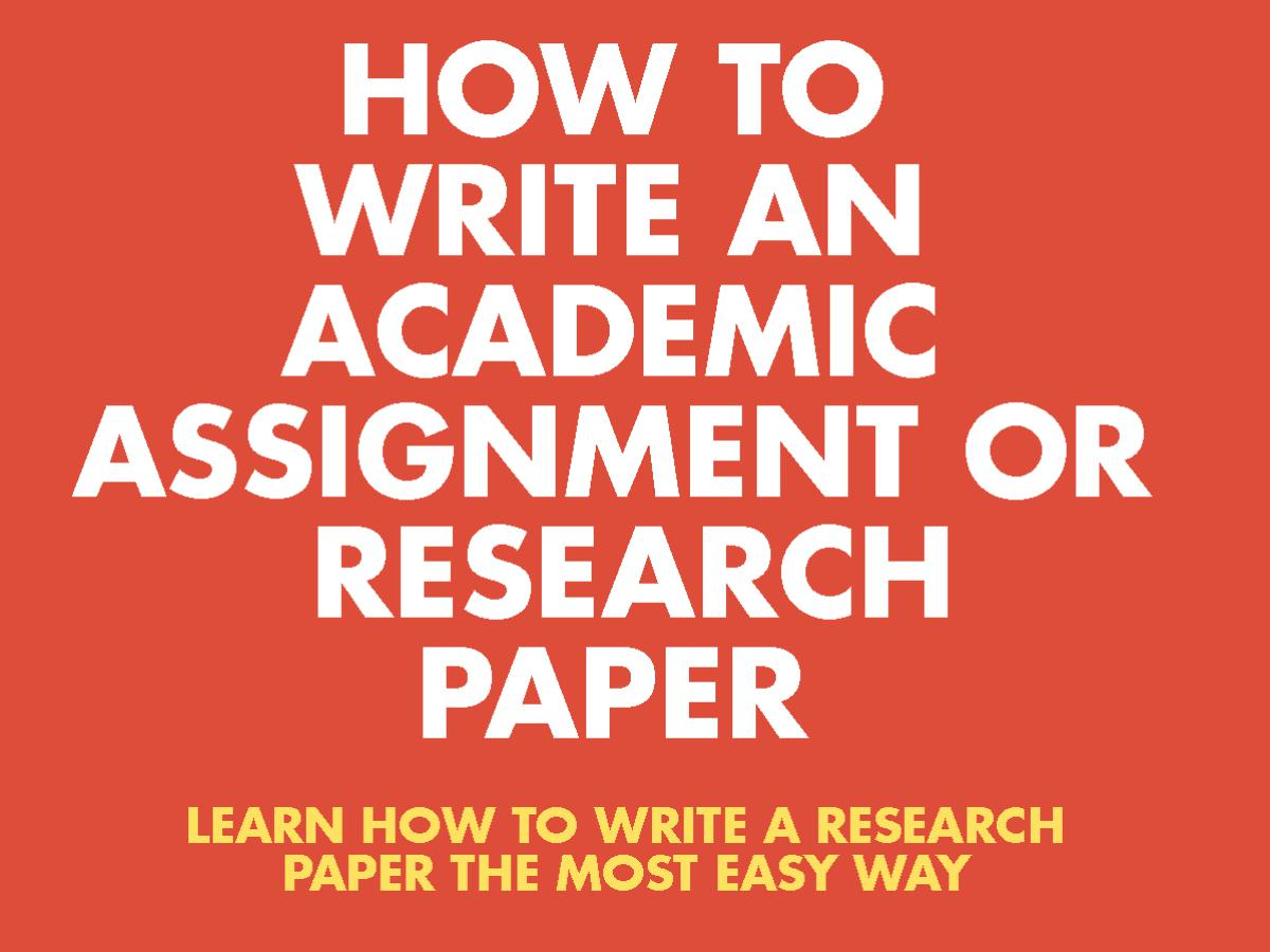 how to write research paper - 7 Tricks for Easy Way to Write a Research Paper [Most Easy Way]