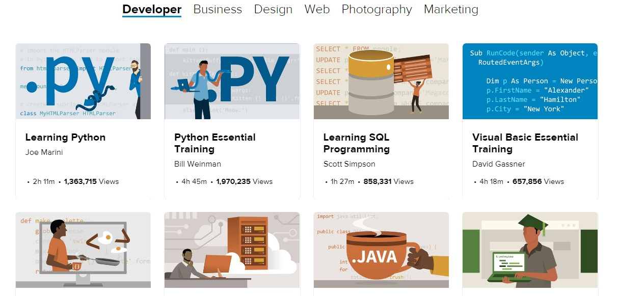lynda courses free download